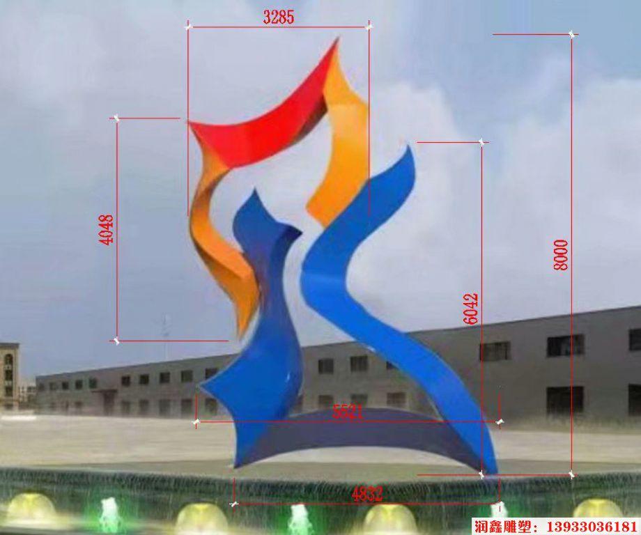 企业标志雕塑,logo雕塑2