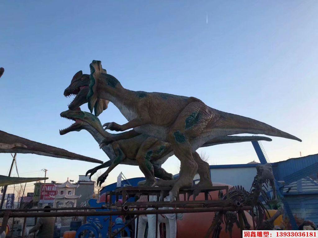 软体恐龙雕塑1