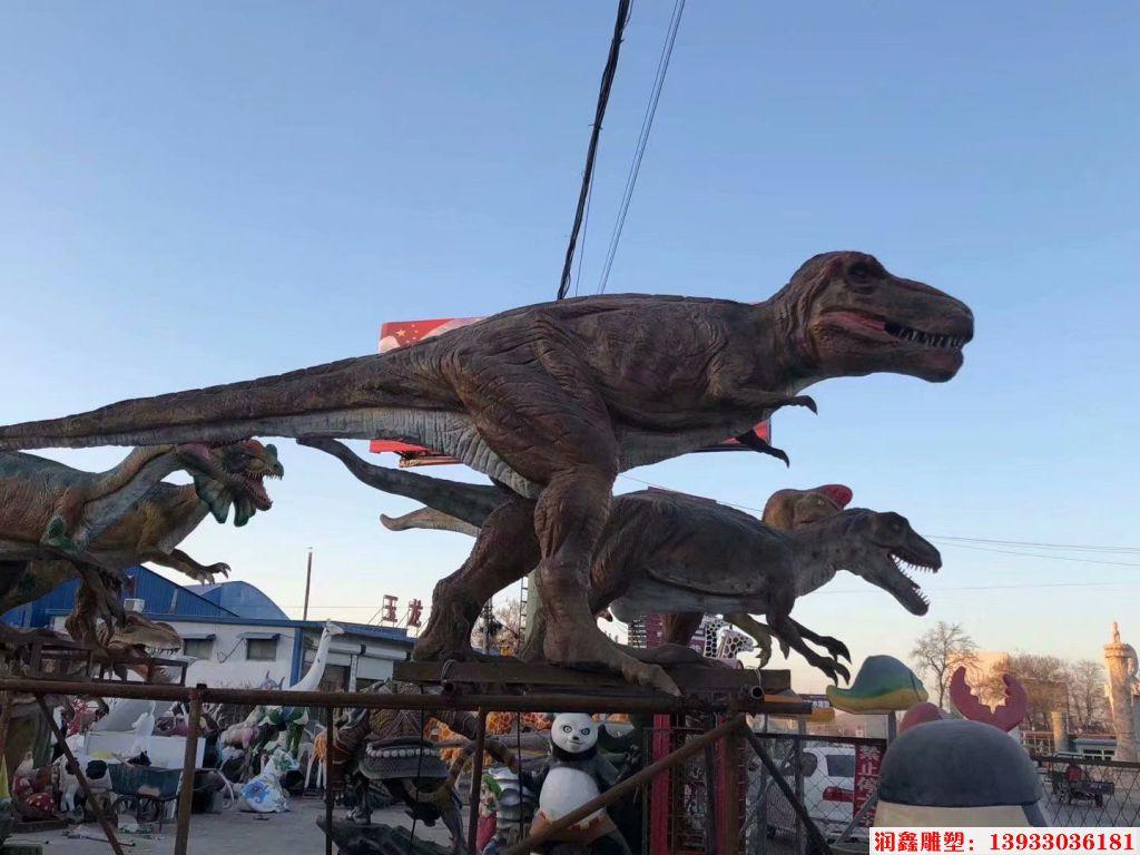 软体恐龙雕塑2